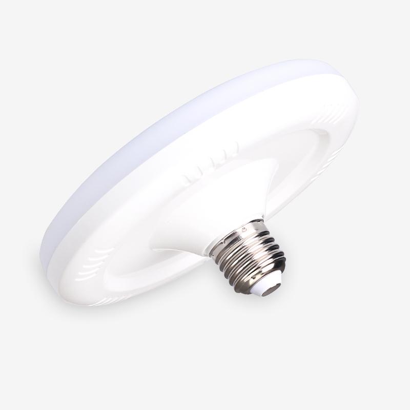 LN-QP620-全塑飞碟灯-奶白15W、20W、25W