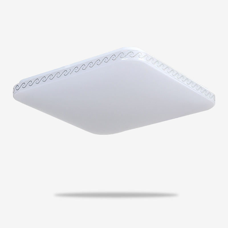LN-8621-夏LED-双色-现代灯(银云)