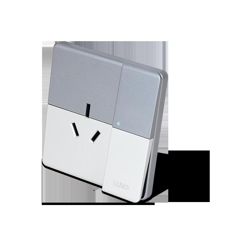 R系列 一位双控带16A插座