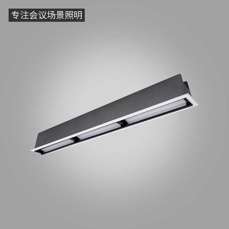 LN-Q系列偏光洗墙灯-嵌入式条形灯三头